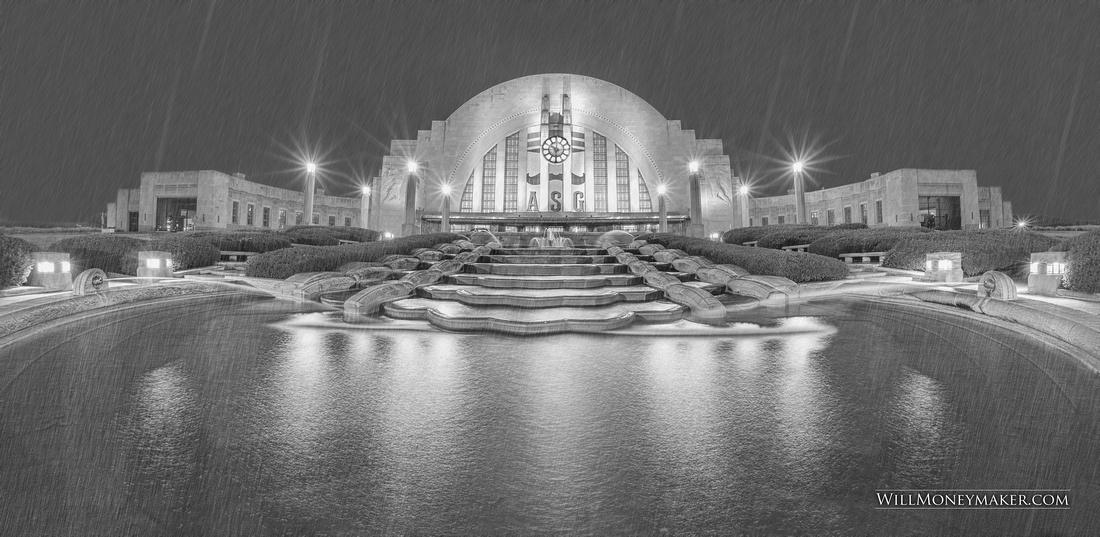 Cincinnati's Union Station, Cincinnati Ohio (Art Deco Architecture)