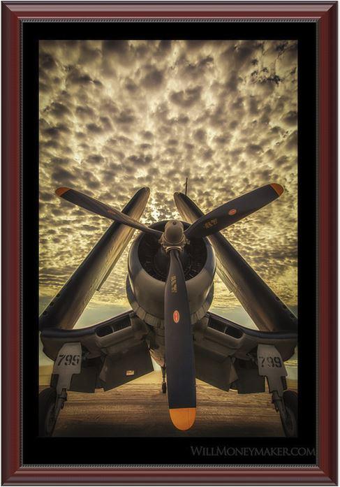 Vought F4U Corsair Photo Print