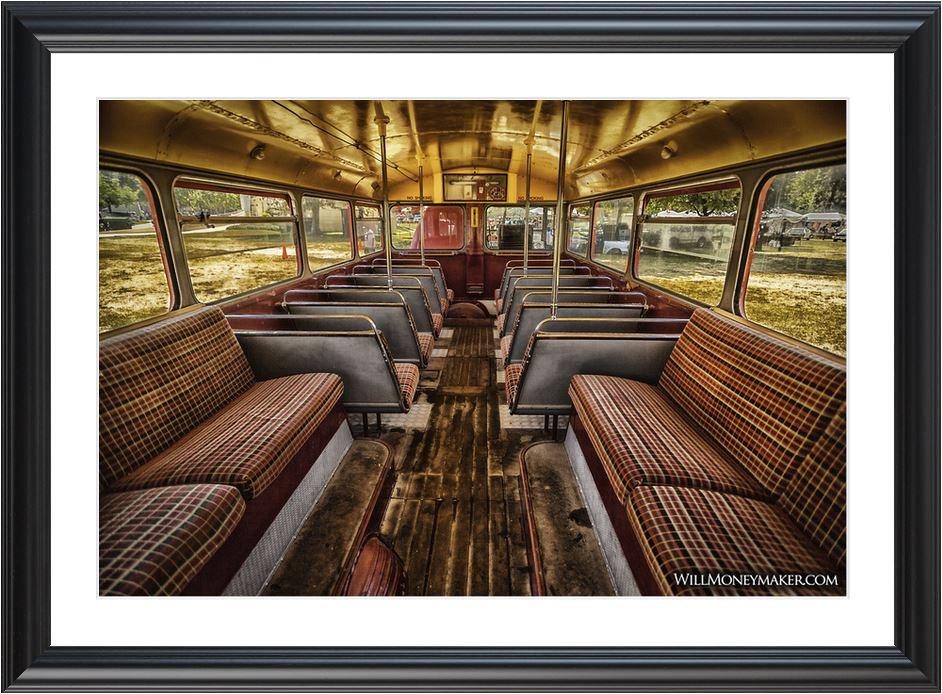 Double-decker Bus Photo Print