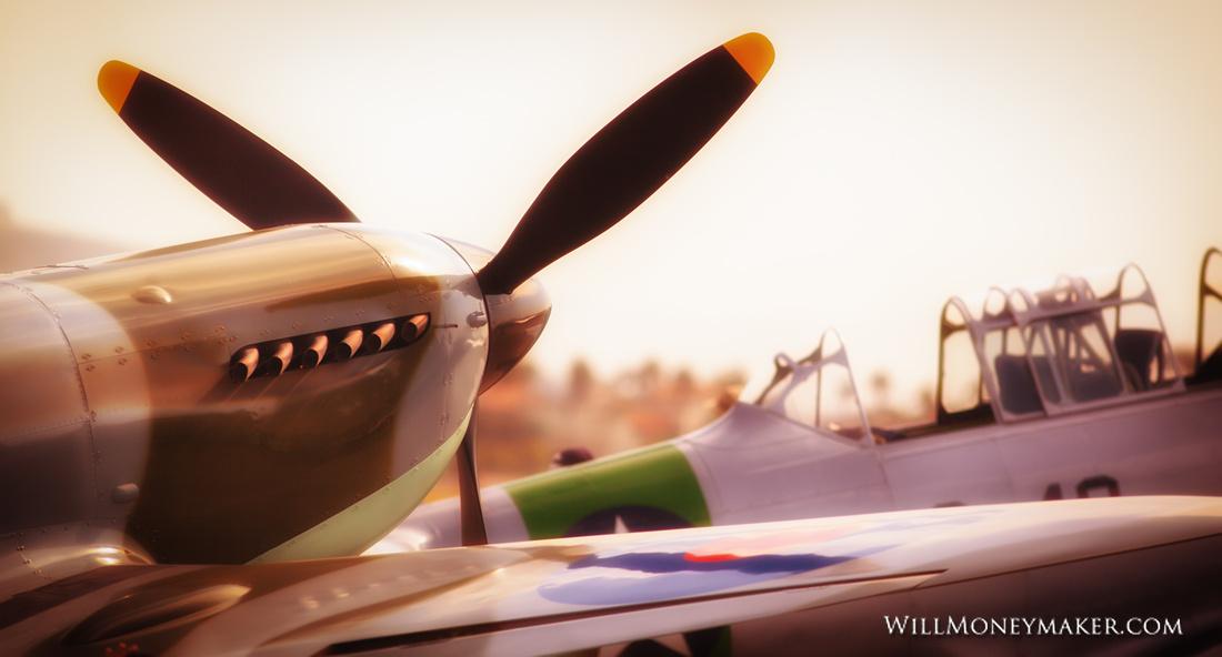 IMG_2360 - Supermarine Spitfire Mk IX replica
