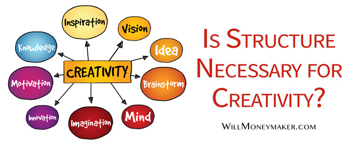 Is Structure Necessary for Creativity?