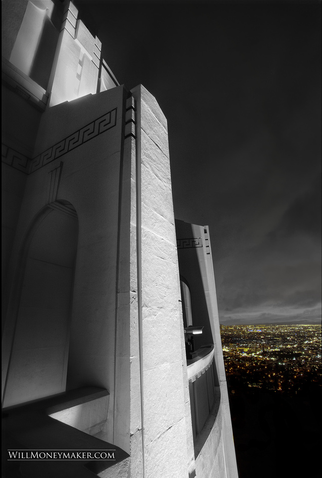 Griffith Observatory, Los Angeles California (Art Deco Architecture)