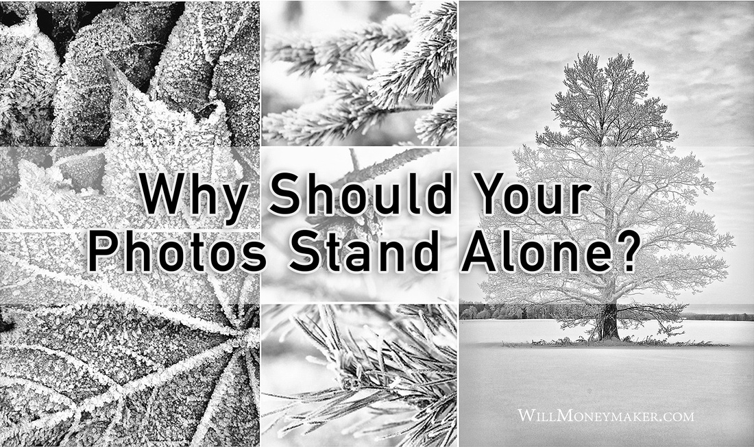 Why Should Your Photos Stand Alone?