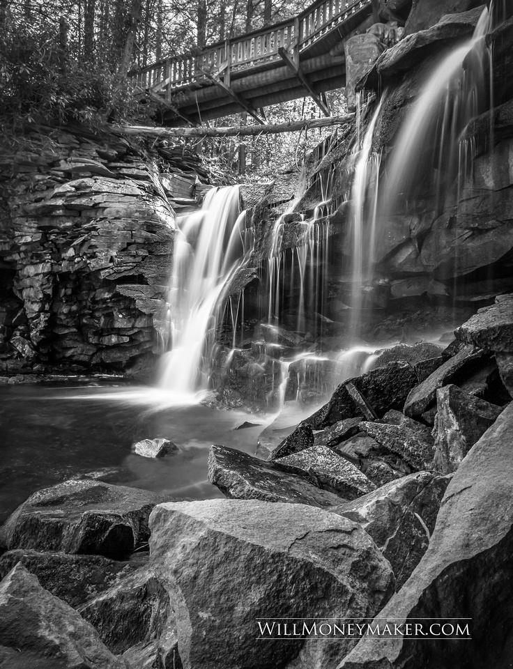 Elakala Falls (A Native American Legend)