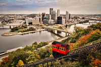 The Duquesne Incline, Pittsburgh, PA - 06