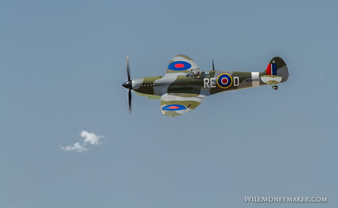 N1940K - Supermarine Spitfire Mk IX replica